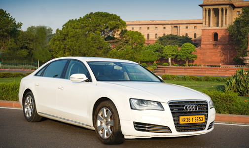 AUDI A8-audi cars on hire For Rent