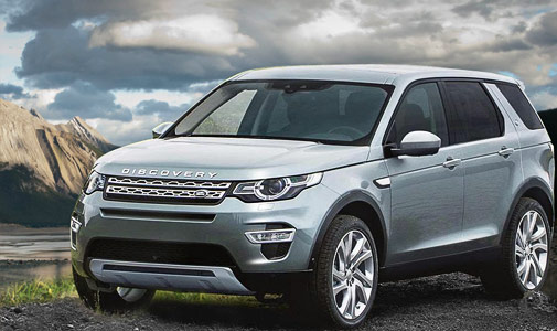Hire Landrover Discovery Sports