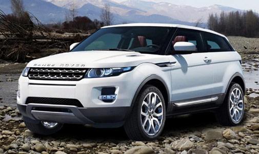 Hire Range Rover Evoque