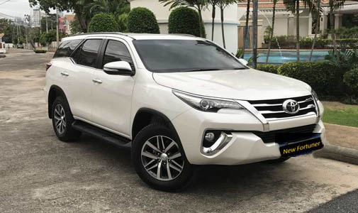 Toyota Fortuner Car Rental In Delhi For Outstation