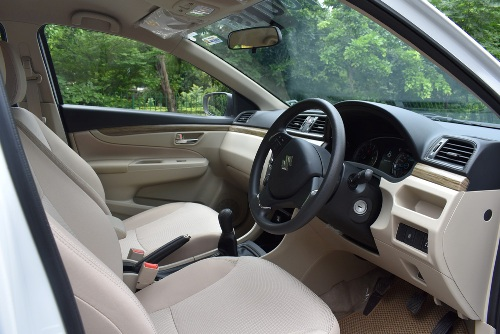 Suzuki Ciaz Front Interior